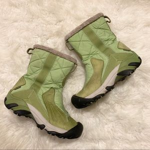 Keen Women's Green Betty Waterproof Winter Boots